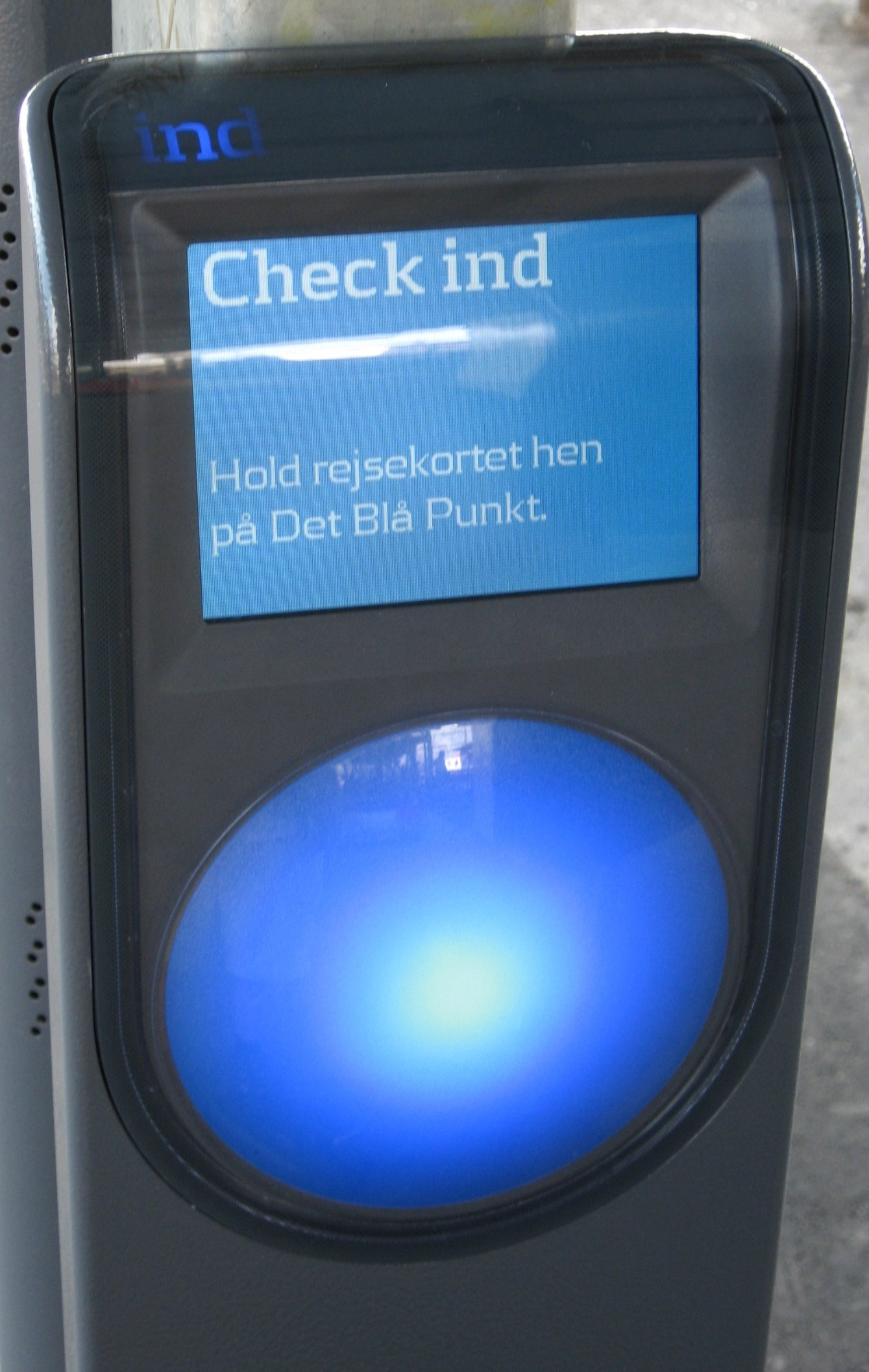 Rejsekort Check In