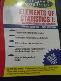 Schaum's Elements of Statistics I