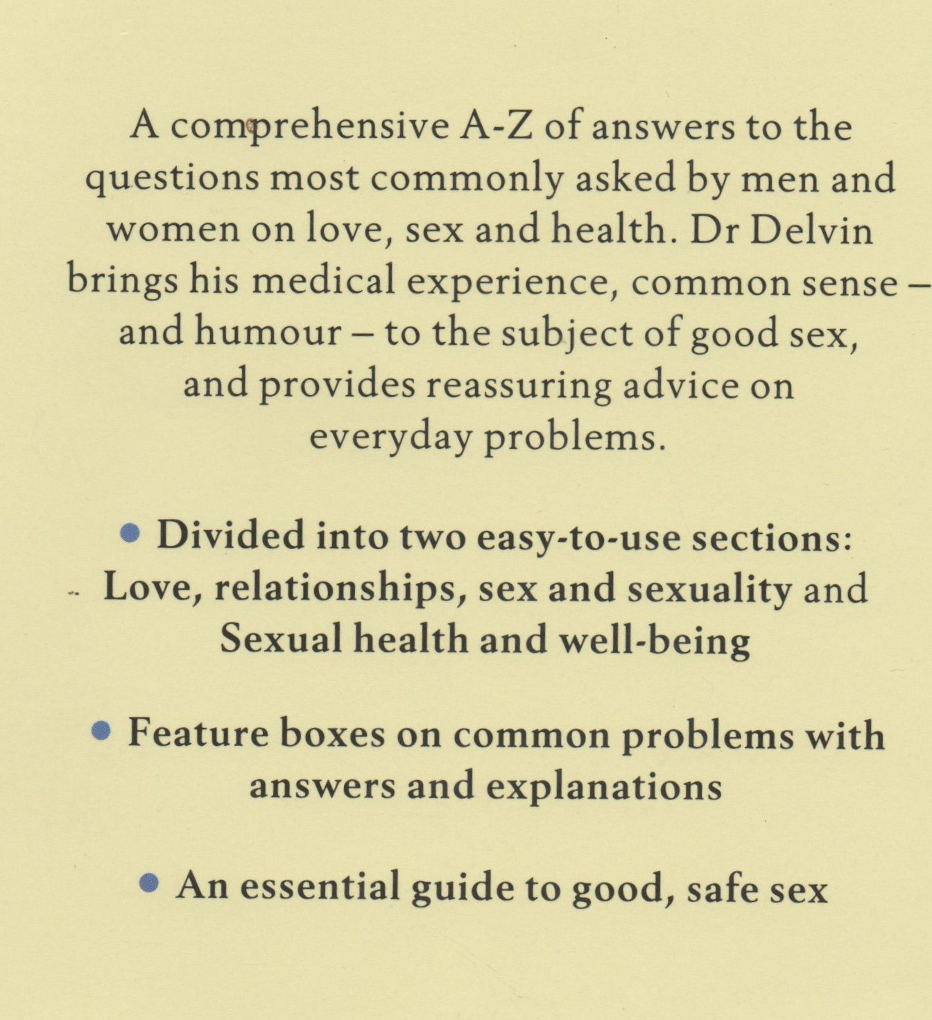 A to Z Guide to Sex
