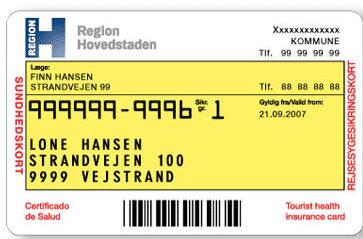 cpr card denmark