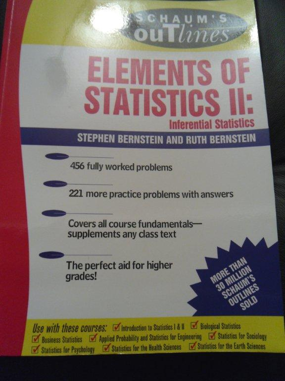 Schaum's Elements of Statistics II