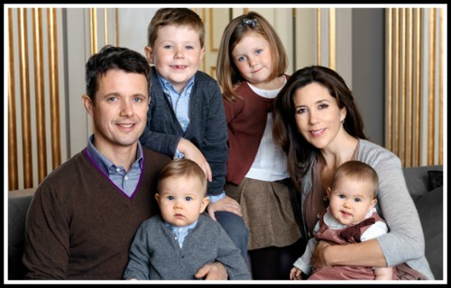 Prince Henrik and family