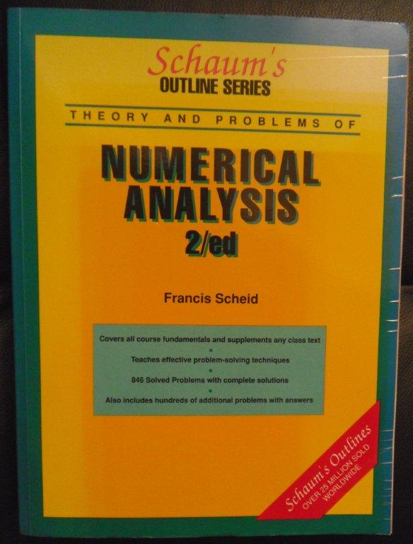 Schaum's Numerical Analysis