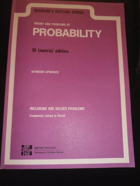 Schaums Probability