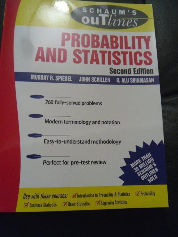 Schaum's Probability and Statistics Second Edition