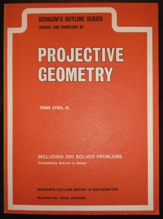 Schaums Projective Geometry