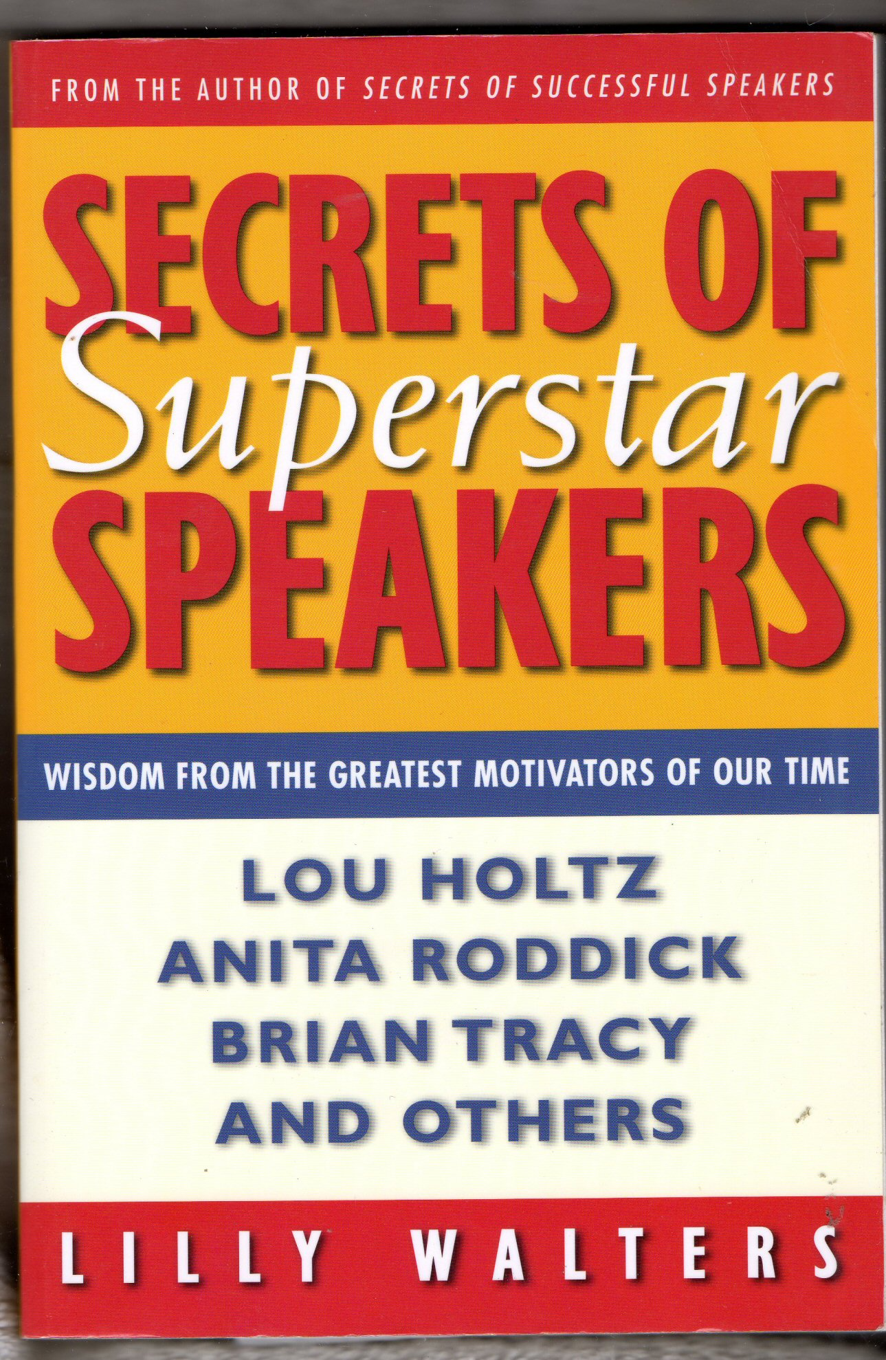 Secrets of Superstar Speakers