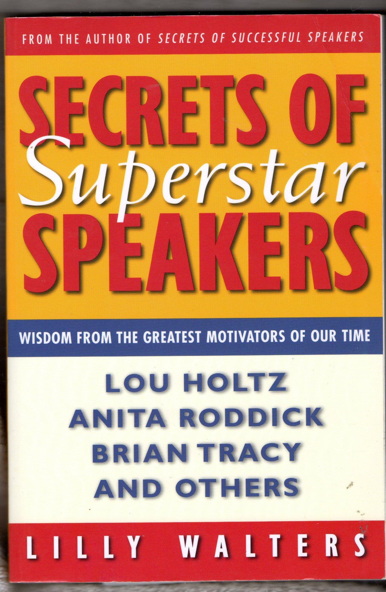 Secrets of Superstar Speakers
