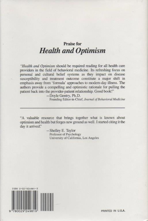 Health and Optimism