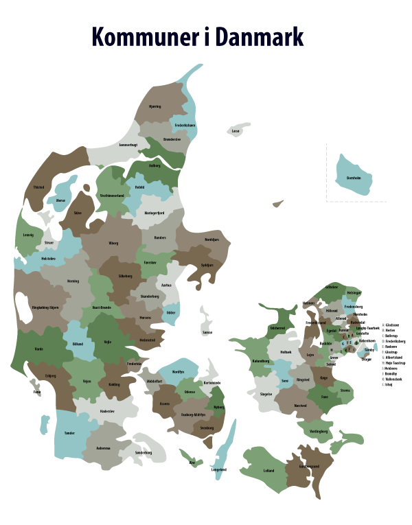 Danish-kommunes