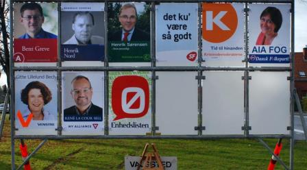 danish voting posters