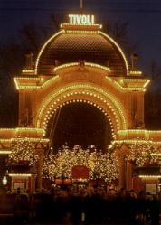 tivoli amusement park in denmark