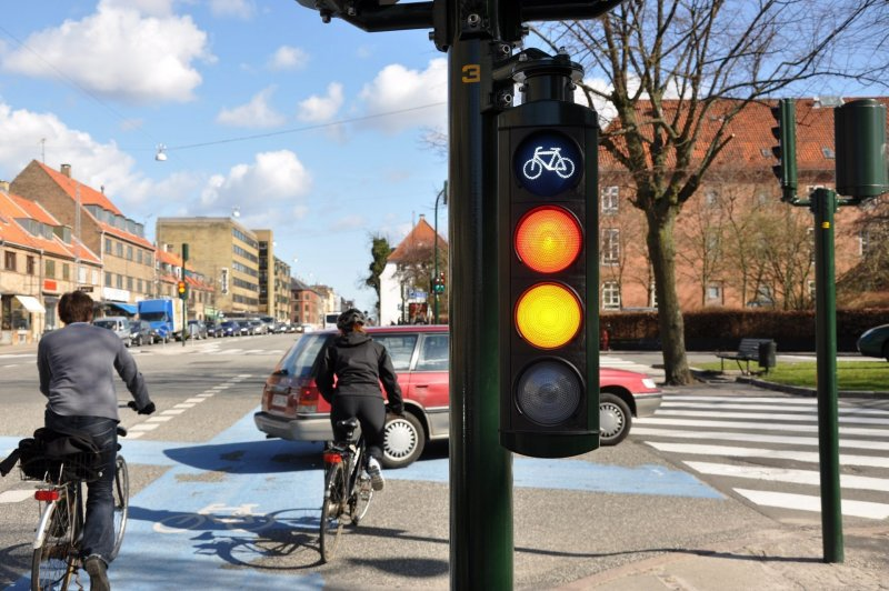 danish bicycle traffic light
