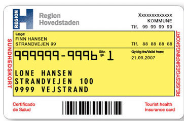CPR Card Denmark