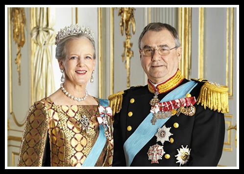 Queen Margrethe and Henri
