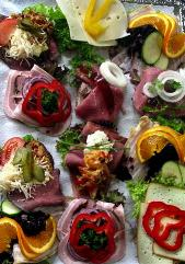 danish open face sandwiches